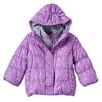 Toddler Girl ZeroXposur Heavyweight Fleece-Lined Foil Crown Jacket