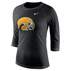 Women's Nike Iowa Hawkeyes Champ Drive Tee