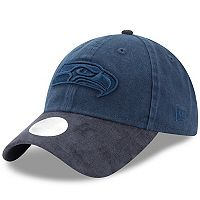 Women's New Era Seattle Seahawks 9TWENTY Twisted Tonal Adjustable Cap