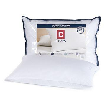Chaps Home Medium Support Down-Alternative Illusion Pillow