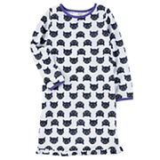 Girls 4-14 Carter's Halloween Cat Print Nightgown
