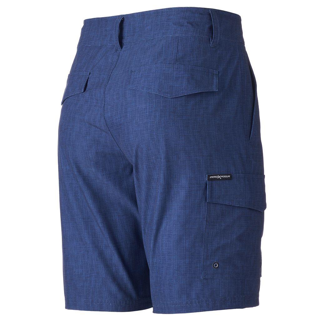 Men's ZeroXposur Stretch Performance Hybrid Cargo Shorts