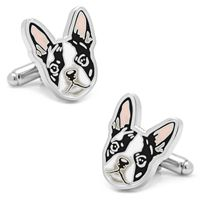Boston Terrier Cuff Links