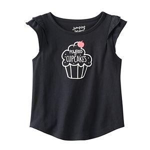 Toddler Girl Jumping Beans® Flutter Short Sleeve