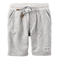 Boys 4-8 Carter's Solid Pull-On Shorts
