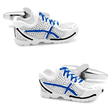 Running Shoes Cuff Links