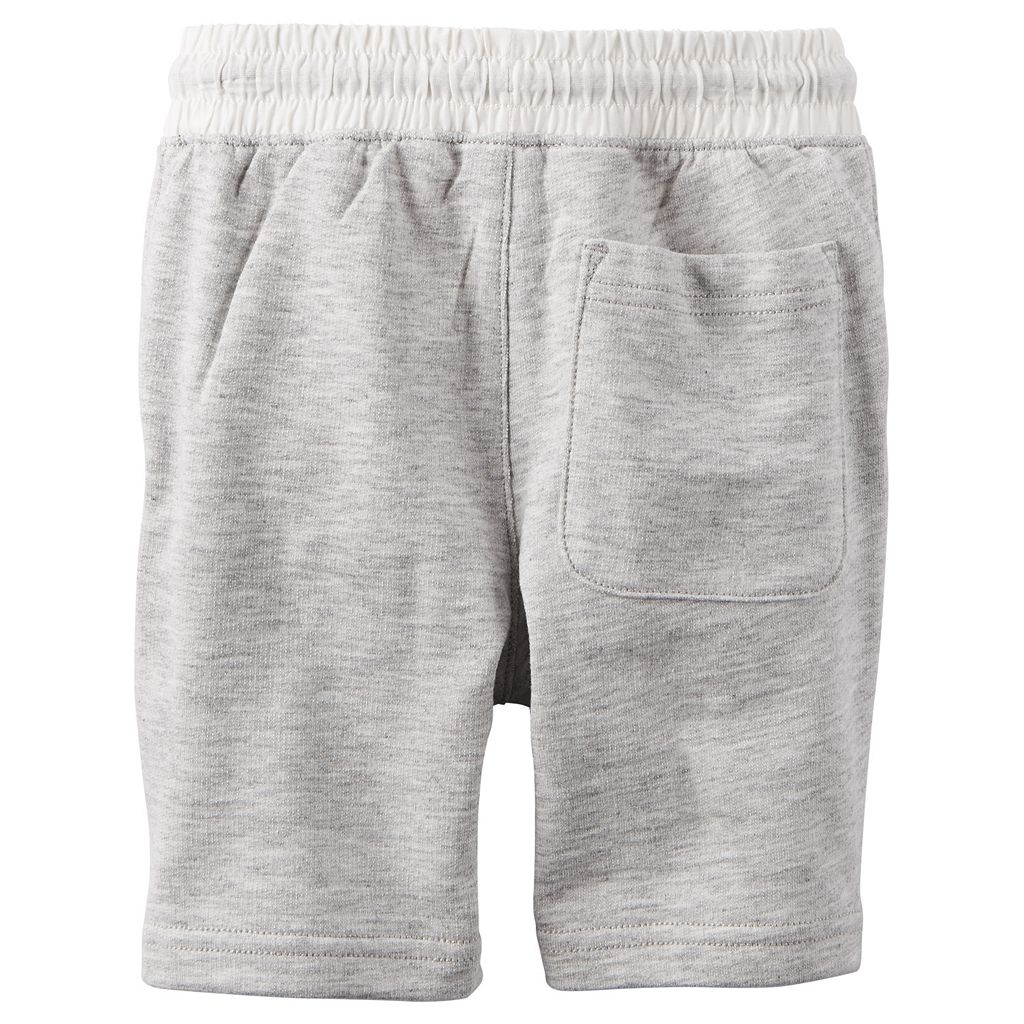 Baby Boy Carter's Solid Pull-On Shorts