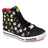 Skechers Jagged Number 2 Boys' High Top Sneakers