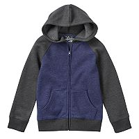 Boys 4-7x Jumping Beans® Fleece-Lined Raglan Hoodie