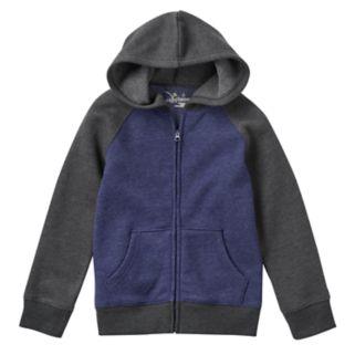 Boys 4-7x Jumping Beans® Fleece-Lined Raglan Hoodie