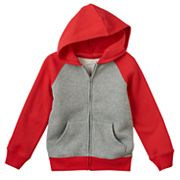 Boys 4-7x Jumping Beans® Raglan Fleece-Lined Hoodie