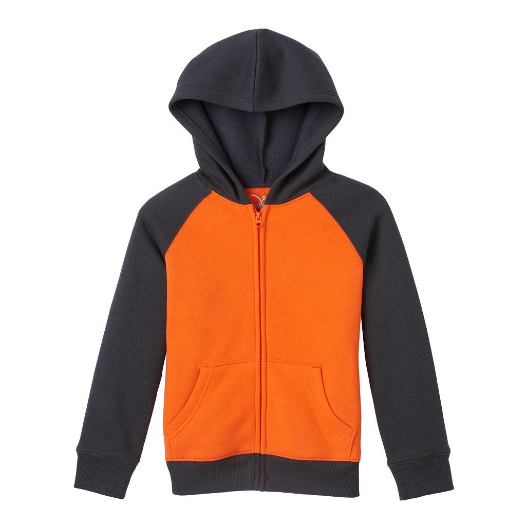 Boys 4-7x Jumping Beans® Raglan Fleece-Lined Hoodie