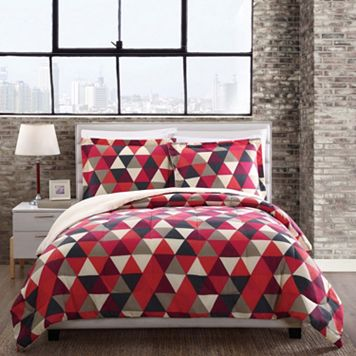 Style 212 Hudson Triangles Comforter Set