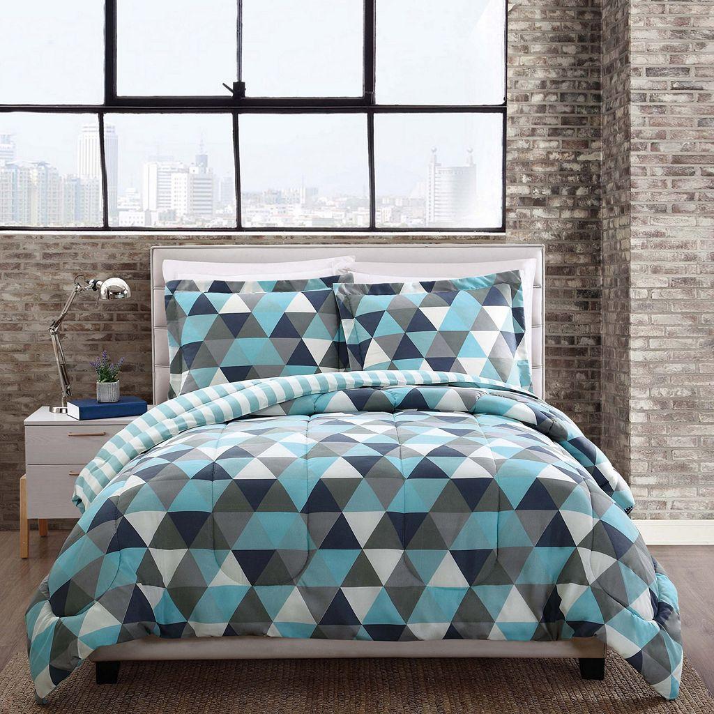 Style 212 Madison Triangles Comforter Set