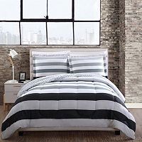 Style 212 Newport Stripe Comforter Set