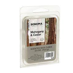 SONOMA Goods for Life™ Mahogany & Cedar Wax Melt 6 pc Set