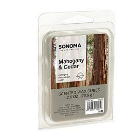 SONOMA Goods for Life? Mahogany & Cedar Wax Melt 6-piece Set