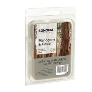 SONOMA Goods for Life™ Mahogany & Cedar Wax Melt 6-piece Set