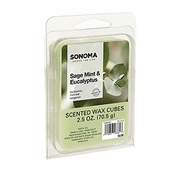 SONOMA Goods for Life™ Eucalyptus & Mint Leaf Wax Melt 6-piece Set