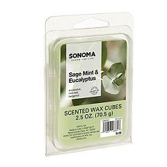 SONOMA Goods for Life™ Eucalyptus & Mint Leaf Wax Melt 6 pc Set