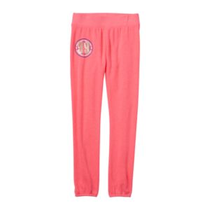 Girls 7-16 & Plus Size SO® French Terry Graphic Jogger Pants