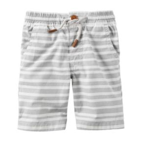 Boys 4-8 Carter's Patterned Pull-On Shorts