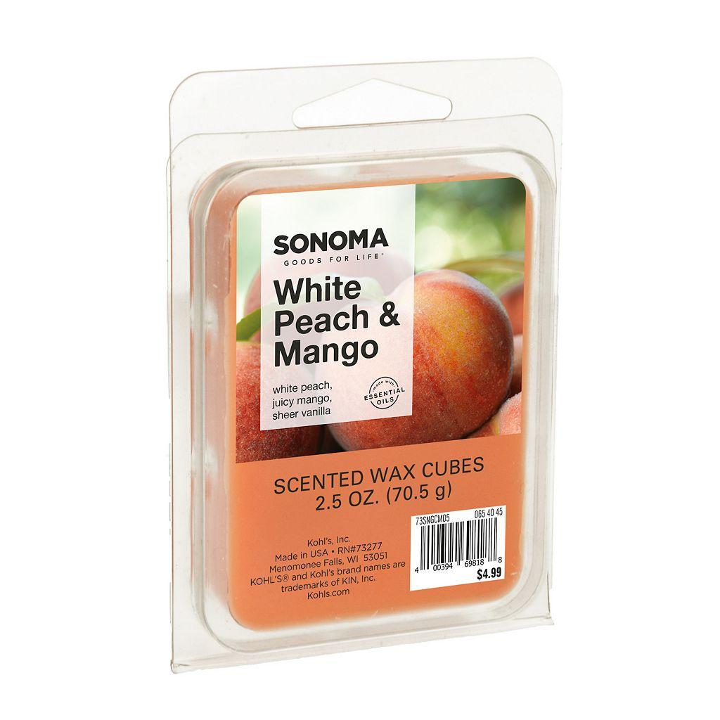 SONOMA Goods for Life™ White Peach & Mango Wax Melt 6-piece Set