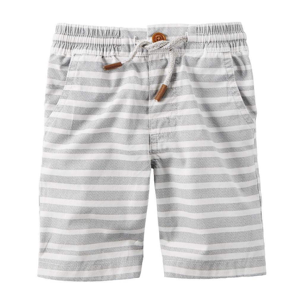 Baby Boy Carter's Patterned Pull-On Shorts