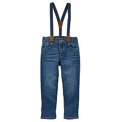 Toddler Boy OshKosh B'gosh® Denim Suspender Pants