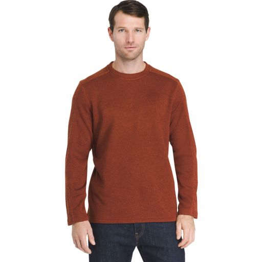 Big & Tall Arrow Colorblock Crewneck Fleece