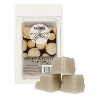 SONOMA Goods for Life™ Sandalwood Cotton Wax Melt 6-piece Set