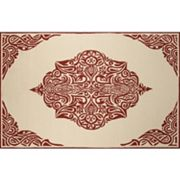 Momeni Veranda Anika Framed Medallion Indoor Outdoor Rug
