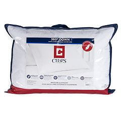Chaps Home 360 Stomach & Back Down Pillow