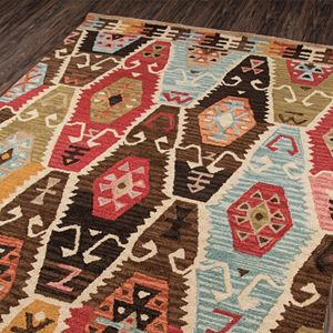 Momeni Tangier Leda Geometric Wool Rug