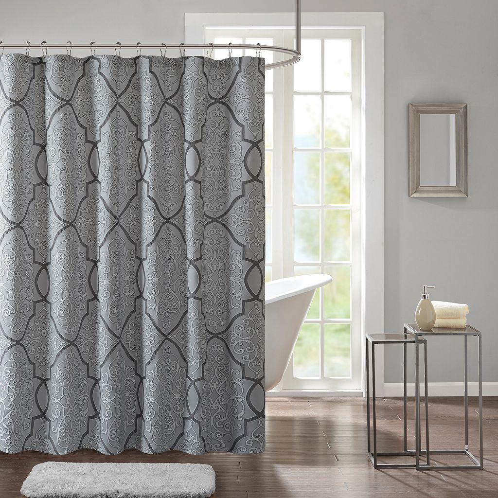 Madison Park Anuok Jacquard Shower Curtain