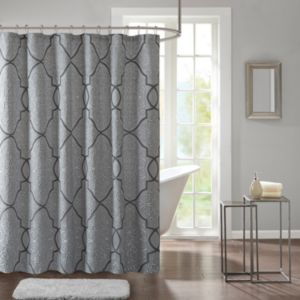 Madison Park Anuok Jacquard Shower Curtain