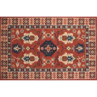 Momeni Tangier Coby Framed Floral Wool Rug