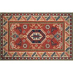 Momeni Tangier Taya Framed Floral Wool Rug
