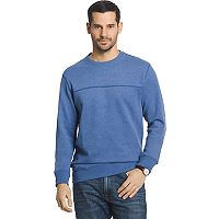 Big & Tall Arrow Classic-Fit Sueded Fleece Crewneck Sweater