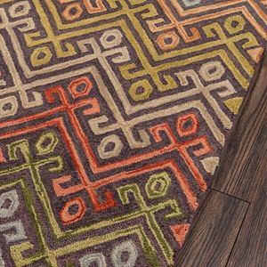 Momeni Tangier Zabel Geometric Wool Rug