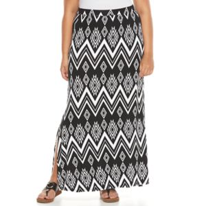 Plus Size French Laundry Maxi Skirt