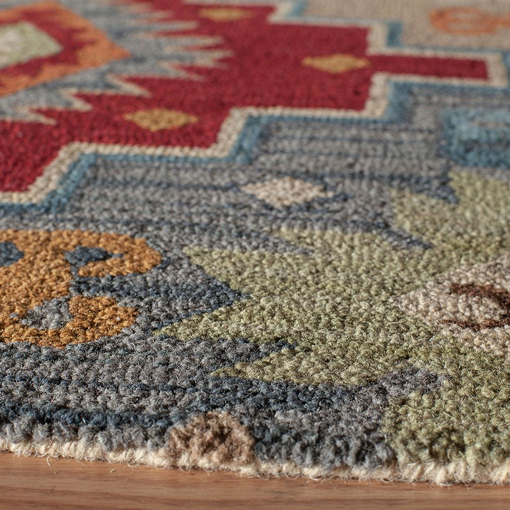 Momeni Tangier Calista Medallion Wool Rug