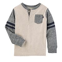 Toddler Boy OshKosh B'gosh® Varsity Pocket Henley