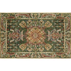 Momeni Tangier Bergin Framed Floral Wool Rug