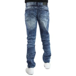 Men's Earl Jean Camden Streaky Blast Slim Stretch Denim Jeans