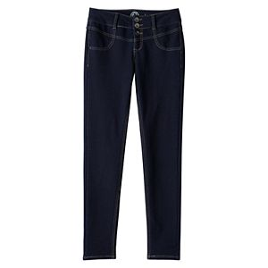 Girls Plus Size SO® Perfectly Soft Embroidered Jeggings