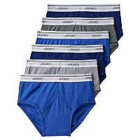 Men's Jockey 6-pack StayNew Low-Rise Briefs