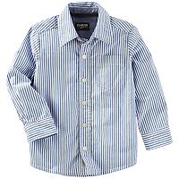Toddler Boy OshKosh B'gosh® Striped Button-Down Shirt