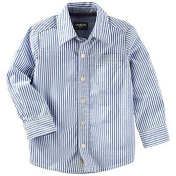 Toddler Boy OshKosh B'gosh® Striped Button-Down Shirt