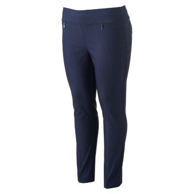 Juniors' Plus Size Candie's® Pull-On Slimming Skinny Pants